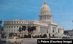 Вид на Капитолий, Гавана, 1960 год