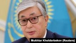 Қазақстан президенті Қасым-Жомарт Тоқаев.