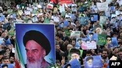 Manifestații pro-guvernamentale la Teheran