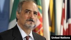 Bashar Ja'afari, Syria's ambassador to the UN