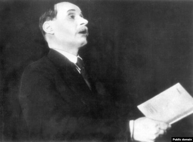 Якуб Колас выступае ўПарыжы, 1935 год
