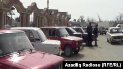Такси в городе Хачмазе, 22 марта 2013