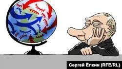 Sergey Elkin-in karikaturası