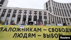 Sakharova protests Moscow 10 august