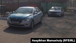 Полицейские автомобили. Иллюстративное фото.