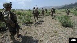 Американски војници во провинцијата Хост.