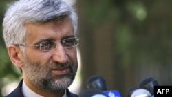 Iran's top nuclear negotiator, Said Jalili