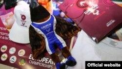 Талисман чемпионата Европы по борьбе в Каспийске (с официального сайта в Instagram)