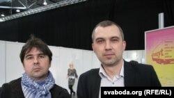 Зьміцер Вішнёў і Альгерд Бахарэвіч