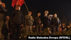 Протест за поддршка и слобода за поранешниот премиер Никола Груевски