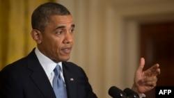 АҚШ президенті Барак Обама. Вашингтон, 13 мамыр 2013 жыл.