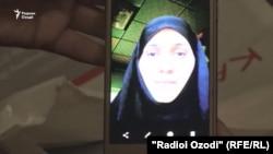 Жительница Душанбе Зухро Хужаева, присоединившаяся к запрещенной террористической организации «Исламское государство».