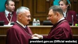 უკრაინის საკონსტიტუციო სასამართლოს მოსამართლეები