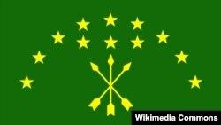 Флаг адыгов (черкесов)