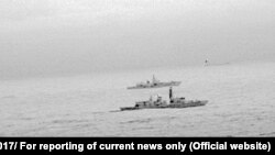 Kraljevske mornarice pratio rusku fregatu