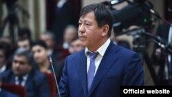 Täjigistanyň içeri işler ministri Ramazan Rahimzoda