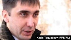 Правозащитник Вадим Курамшин. Алматы, 7 декабря 2010 года.
