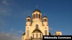 Яке аз калисоҳои шаҳри Екатеринбург.