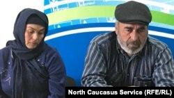 Муртазали и Патимут Гасангусейновы, родители убитых силовиками дагестанских пастухов