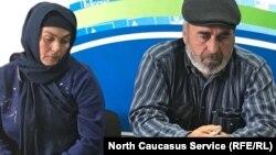Муртазали и Патимат Гасангусейновы, родители убитых полицейскими дагестанских пастухов