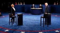 Klinton, Trump çekeleşikli debaty geçirdi
