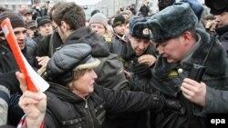 Москвадагы митинг, 2010-жылдын 20-марты.