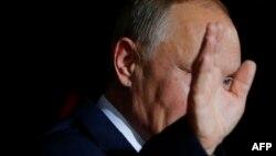 Володимир Путін у Берліні, 19 жовтня 2016 року
