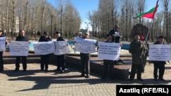 Митинг в Казани в защиту татарского языка, 14 апреля 2019 г.
