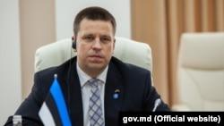 Премьер-министр Эстонии Юри Ратас. 18 июня 2018 года.