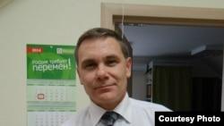На снимке: Евгений Витишко – эколог, приговоренный ранее к трем годам лишения свободы