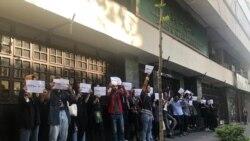 حمایت جنبش دانشجویی ایران از کارگران
