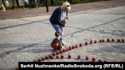 Вшанування пам'яті жертв катасрофи Іл-76, Київ, 14 червня 2018 року