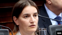 Public administration expert Ana Brnabic was named businesswoman of the year in Serbia in 2013. (file photo)