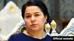 Дочь президента Таджикистана Эмомали Рахмона Озода Рахмон.
