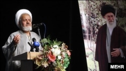 علی سعیدی، نماینده رهبر جمهوری اسلامی در سپاه پاسداران.