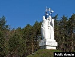Памятник Великому стоянию на Угре в Калужской области России