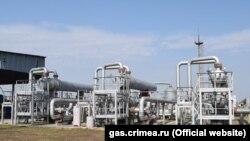 Глебовское хранилище газа в Крыму