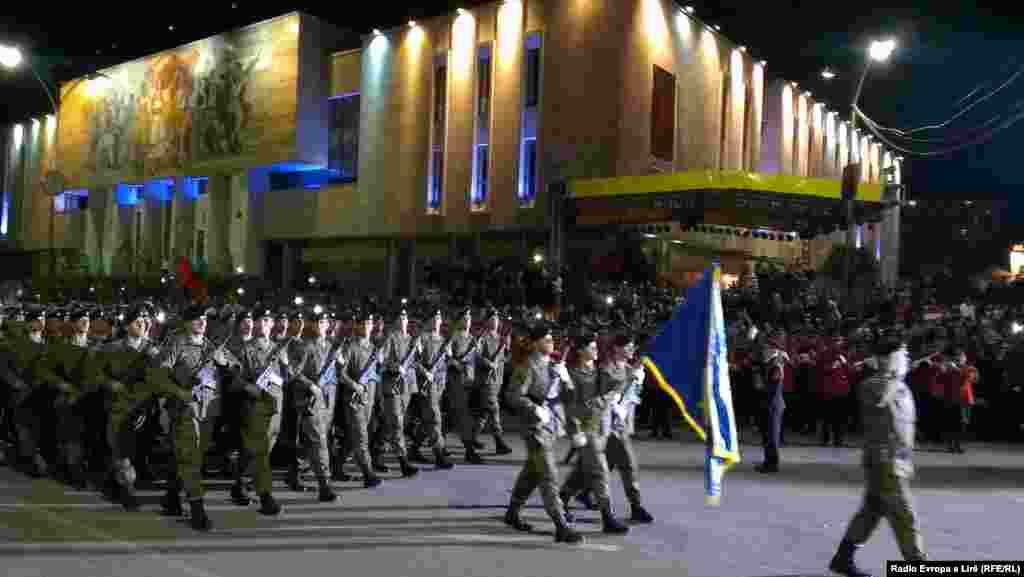 Pjesë e parakalimit të Forcave të Armatosura të Shqipërisë, ishte edhe Forca e Sigurisë e Kosovës