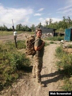 Медицинский рюкзак Наталье собрали и передали волонтеры из Киева