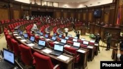 Ազգային ժողովի նիստերի դահլիճը այսօր