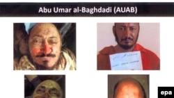 """صورة لقادة جماعة """"دولة العراق الإسلامية"""" الذين قتلوا العام الماضي"""