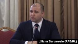 Ministrul justiției Vladimir Cebotari