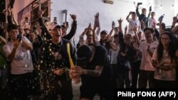 Prodemokratski aktivisti su osvojili većinu i u poslednjoj, 18-oj jedinici
