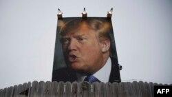 Предвыборный плакат в Айове, 25 января 2016 г.