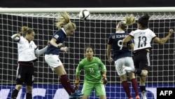 پیروزی تیم سفیدپوش آلمان در مقابل فرانسه