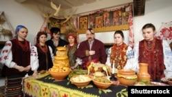 Реконструкция процесса подготовки празднования Рождества в Украине