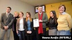 Nagradjeni novinari BIRN-a
