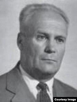 Павел Галицкий, после освобождения, фото 1962 года