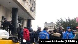 U Novom Sadu protest radnika Pošte Srbije