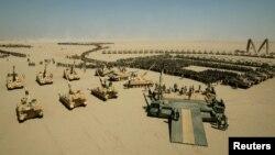 Британские войска перед отправкой в Ирак, архивное фото 2003 года.